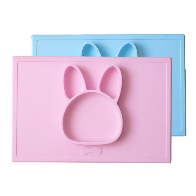 Silicone baby placemats